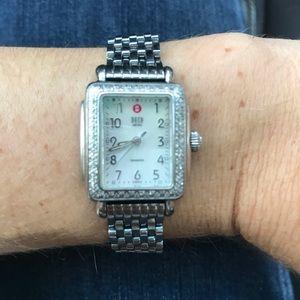 Michele deco Diamond mini watch